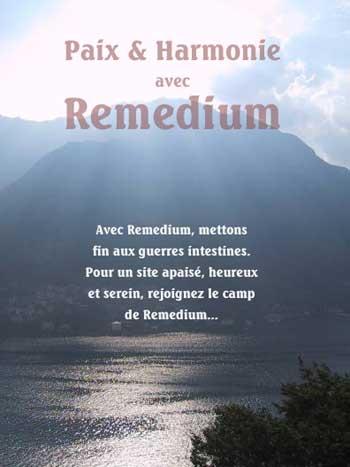 la participation de Remedium